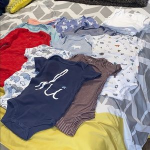 14 size 18 months Carters onesies